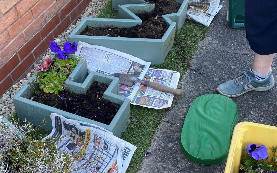 W F W I Planters – facelift for the summer