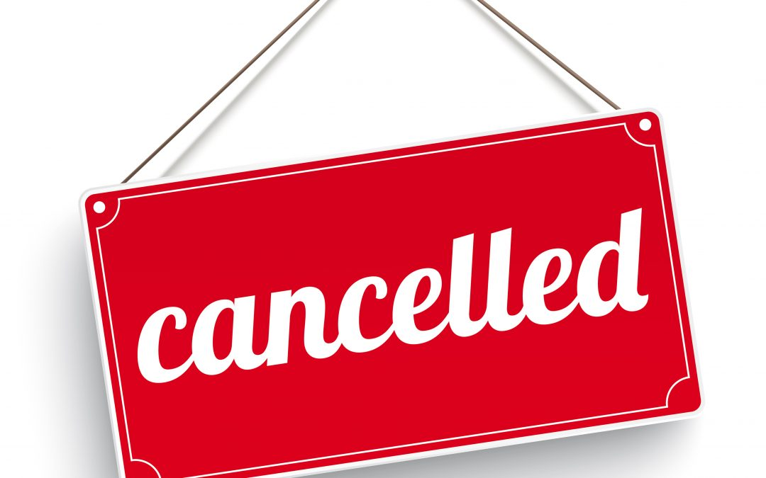 Rev Richard Coles Lunch – Cancelled